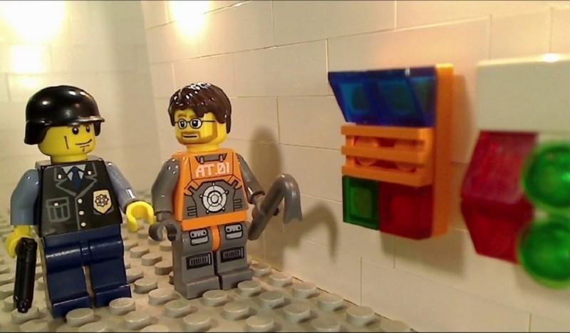 В Германии прошла спецоперация из-за парня с автоматом, собранным из конструктора Lego