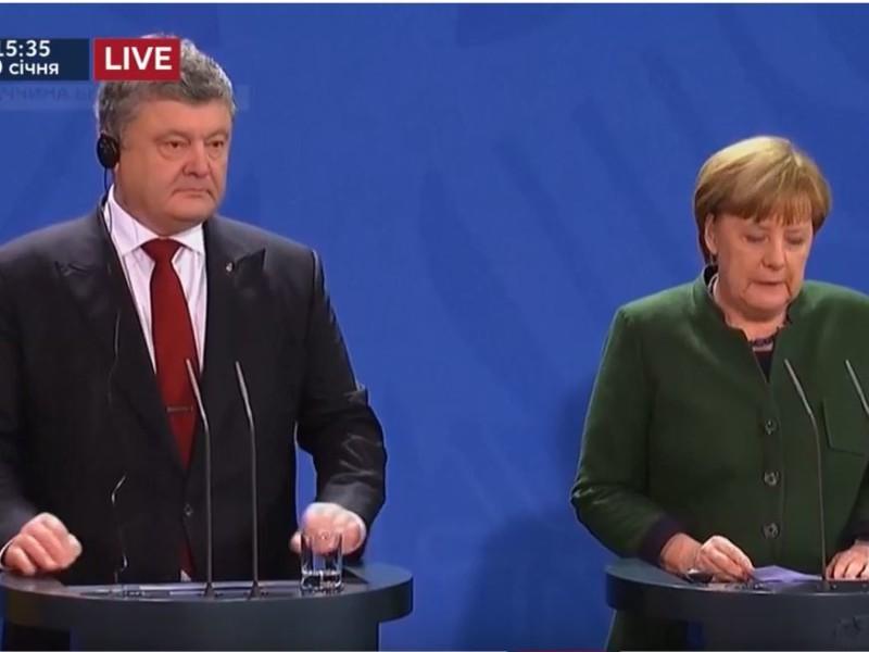 Вокруг да около. Порошенко и Меркель — о беспрецедентном партнерстве