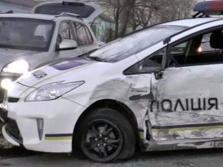 23 полицейских автомобиля попали в ДТП в Николаеве с начала работы патрульной полиции