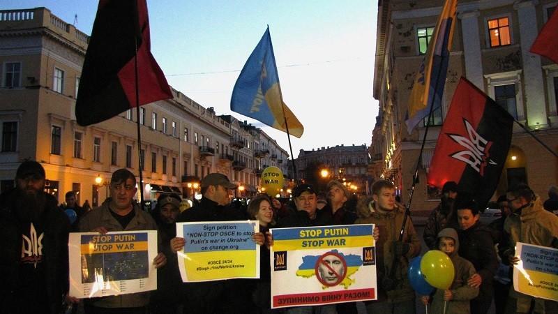 Ярош возобновляет всемирную акцию Стоп_Путин