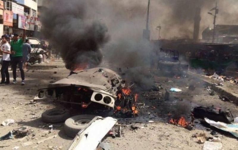 На овощном рынке в Багдаде взорвался автомобиль – погибли 12 человек, 50 раненых