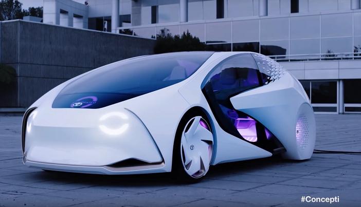 Тойота показала автомобиль будущего. Почти настоящего