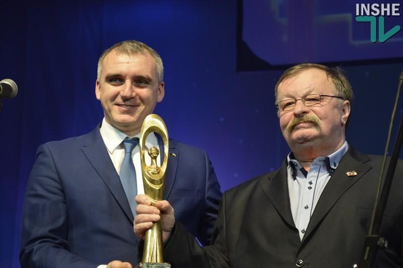 В Николаеве наградили победителей общегородской программы «Человек года»