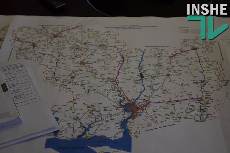 Из бюджета Николаевской области выделят 17,65 млн.грн. на дорожные работы по трассе Т-15-08