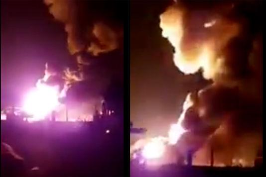Во Франции прогремели взрывы на складе с газовыми баллонами