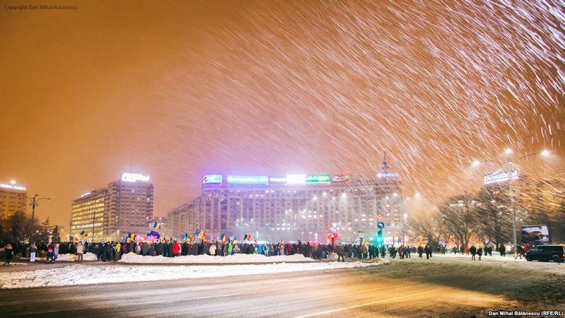 В Румынии продолжились массовые протесты