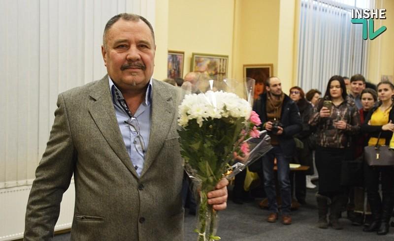 «Сделано с удовольствием»: В Николаеве открылась выставка работ Леонида Ященко