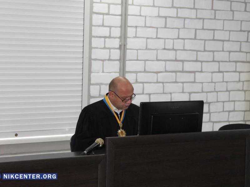 Высший совет правосудия принял отставку судьи Центрального суда Николаева Олега Батченка