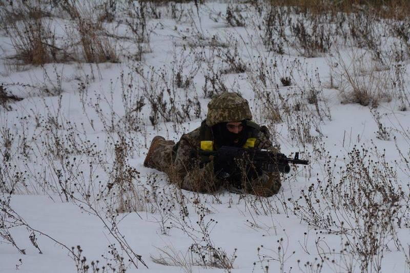 Группа украинских разведчиков не вернулась с задания в Луганской области
