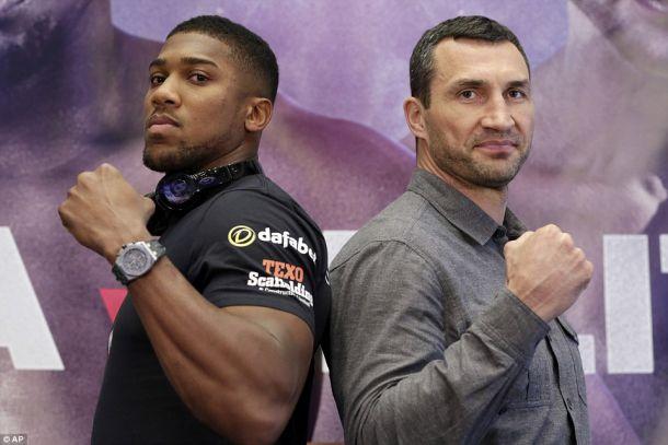 Бой-реванш между Кличко и Джошуа может состоятся 28 октября