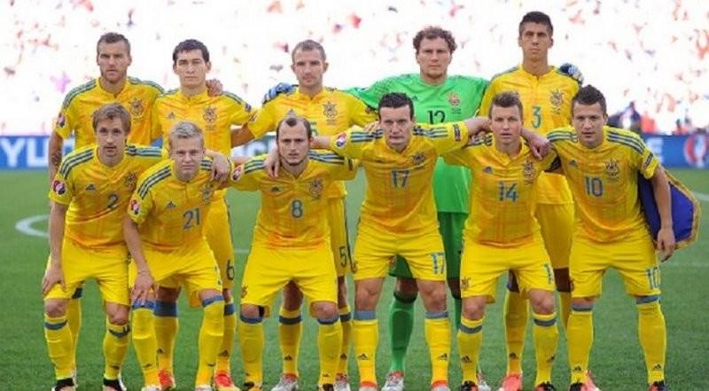В обновлённом рейтинге ФИФА сборная Украина заняла 30-е место