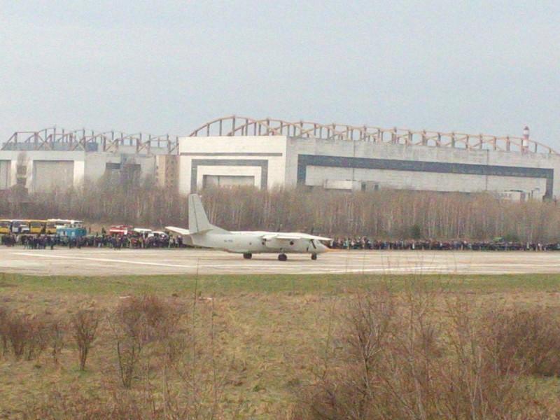 Первый полет  нового самолета Ан-132