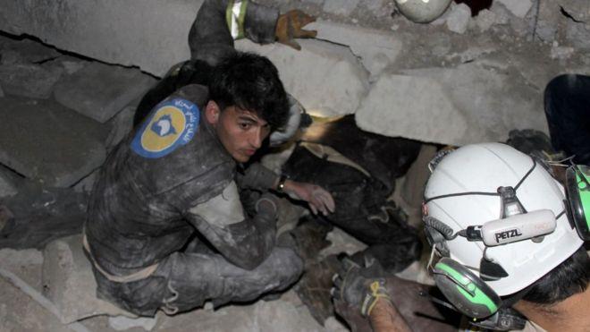 Авиаудар по мечети в Сирии: более 40 погибших