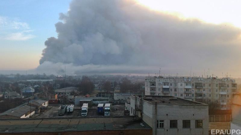 В Балаклее разрушен молокозавод, сгорело несколько домов