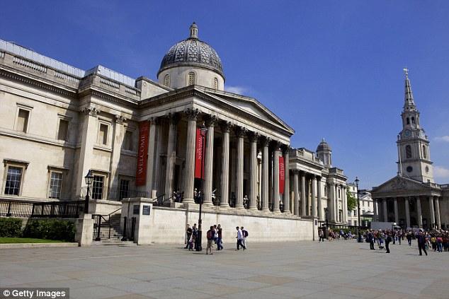 В Национальной галерее в Лондоне мужчина напал на картину Гейнсборо с отверткой