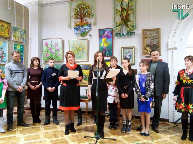 «Мастера красочной палитры»: в Николаеве открылась выставка народных студий