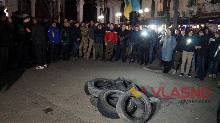 Полиция озвучила позицию в связи с протестными акциями: Никакого захвата облсоветов не было