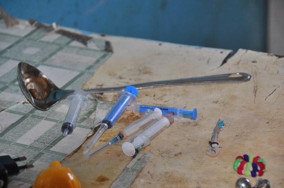 В Ингульском районе Николаева прикрыли наркопритон