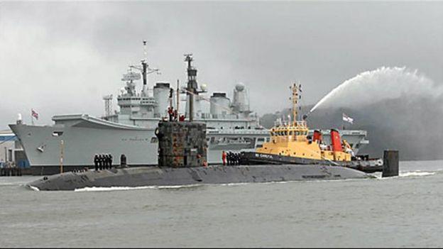 Англия – такая Англия: старый чемодан хранил чертежи атомной подводки «Трафальгар»