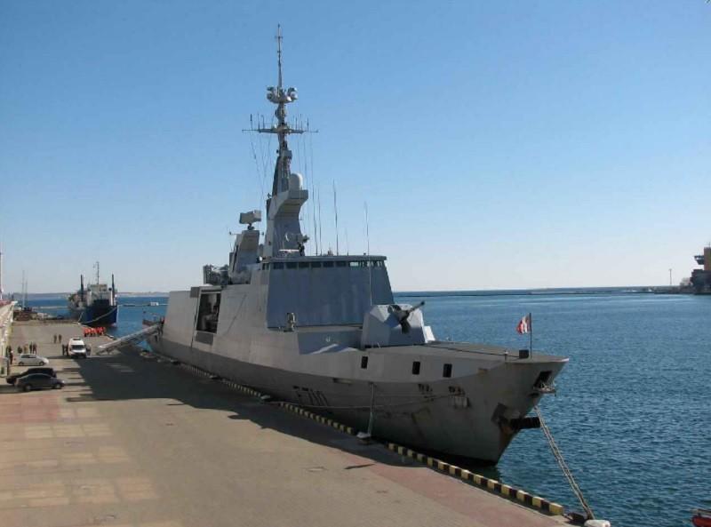 В Одессу зашел фрегат французских ВМС