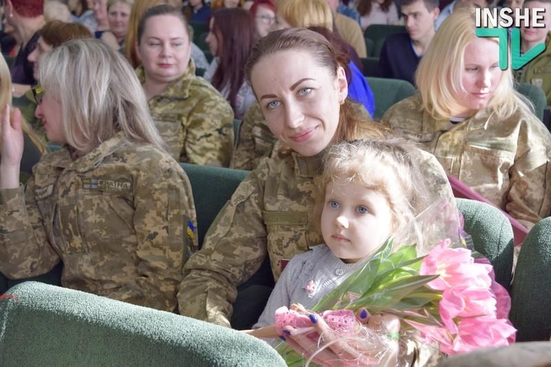 «Все, пойду в 36-ю бригаду» — губернатор Николаевщины на поздравлении женщин-морпехов