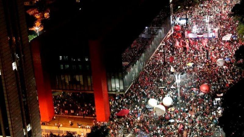 В Бразилии протестующие против пенсионной реформы захватили министерство финансов