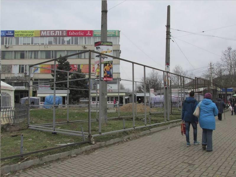 Земельная комиссия Николаевского горсовета провалила голосование по незаконному строительству «будкограда» около рынка «Колос»