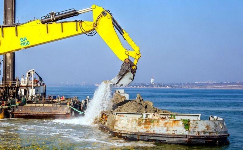 Тендер на дноуглубление порта Южный за миллиард  выиграла китайская компания