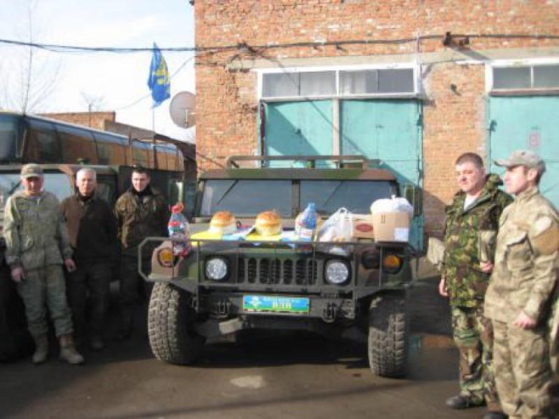 Община Первомайщины отправила автомобили бойцам на востоке Украины