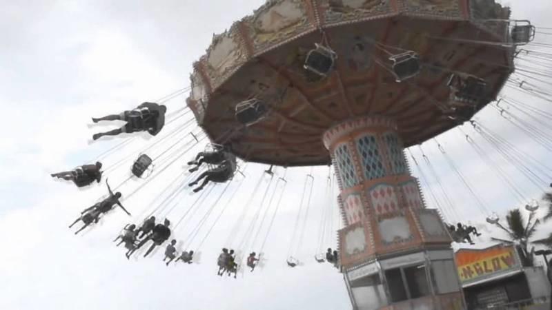 Ночью в Вознесенске сломалась карусель – там праздновали День города (ФОТО, ВИДЕО)