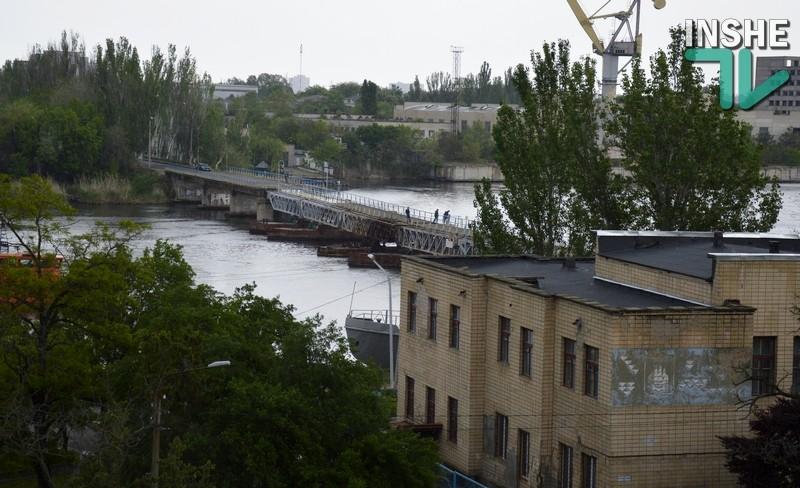 Что делать Николаеву с понтонным мостом? Сегодня решали, но…не решили