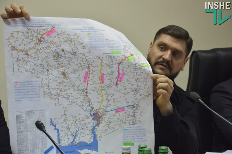 Николаевской области из Госбюджета выделили всего 200 млн.грн. на дороги. Обещают ещё 1,2 млрд.грн.