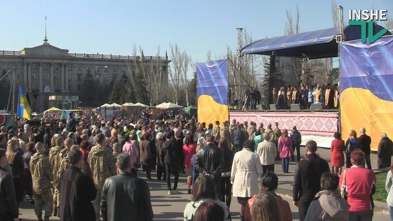 В Николаеве совместную молитву за победу над агрессором и мир в Украине представители Московского патриархата проигнорировали