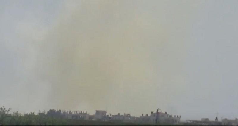 Вторая химическая атака в Сирии – сбрасывались бомбы с хлором