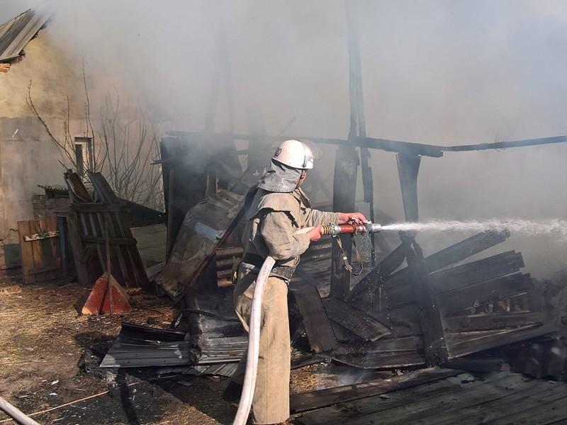 В Николаевской области снова пожары из-за мусора