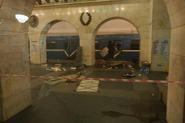 В метро Санкт-Петербурга обнаружено не сработавшее взрывное устройство