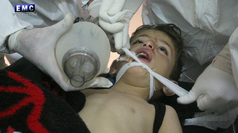 ВСирии использовали запрещенное химическое оружие