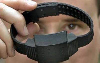 Нацполиция закупила электронные браслеты слежения по цене 53,8 тыс. гривен за штуку