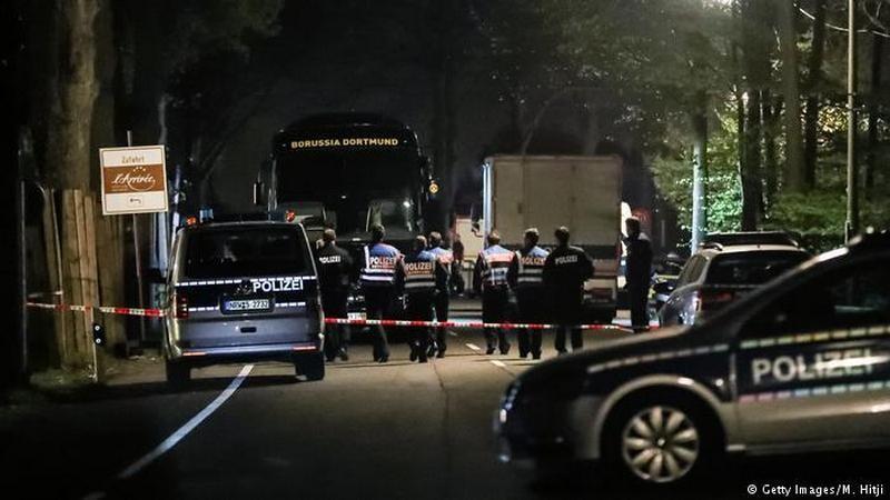 Немецкая полиция задержала гражданина РФ, подозреваемого в организации взрыва у автобуса дортмундской «Боруссии»