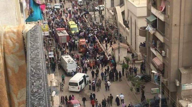 В туристическом районе Египта прогремел взрыв, более десяти пострадавших (ВИДЕО)
