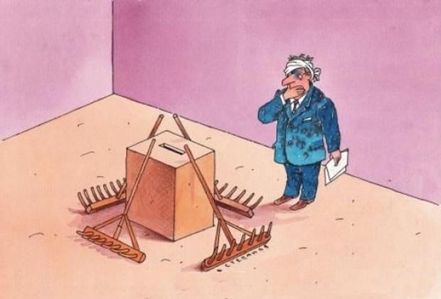 Украинские реалии: зло, кажущееся меньшим, неизбежно оказывается бОльшим