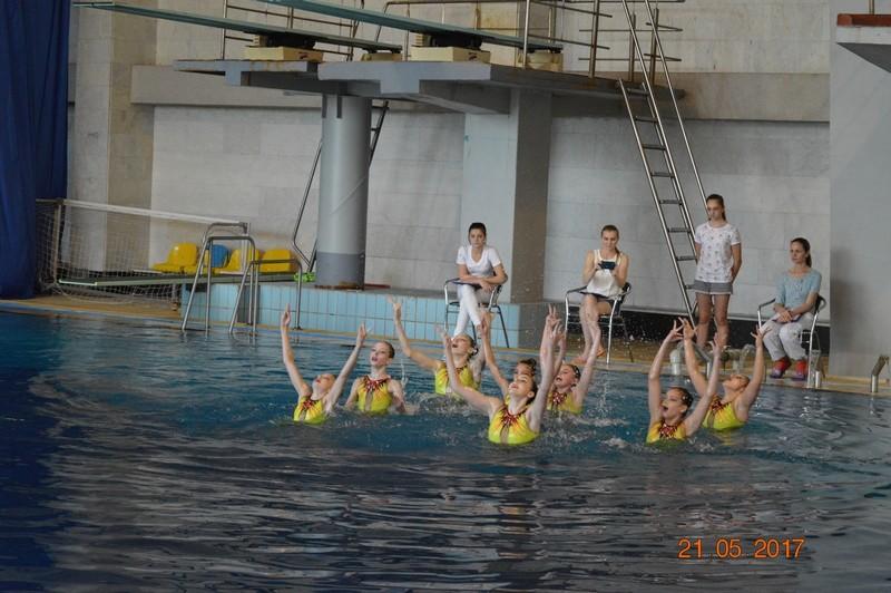 В Николаеве состоялся ежегодный открытый Чемпионат области по синхронному плаванию