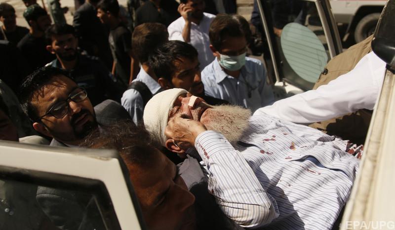 Теракт в Кабуле: количество погибших увеличилось до 80 человек, ещё 350 получили ранения