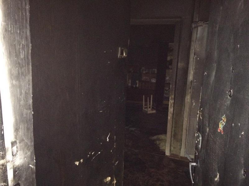 В Николаеве на пожаре обнаружено тело погибшего мужчины