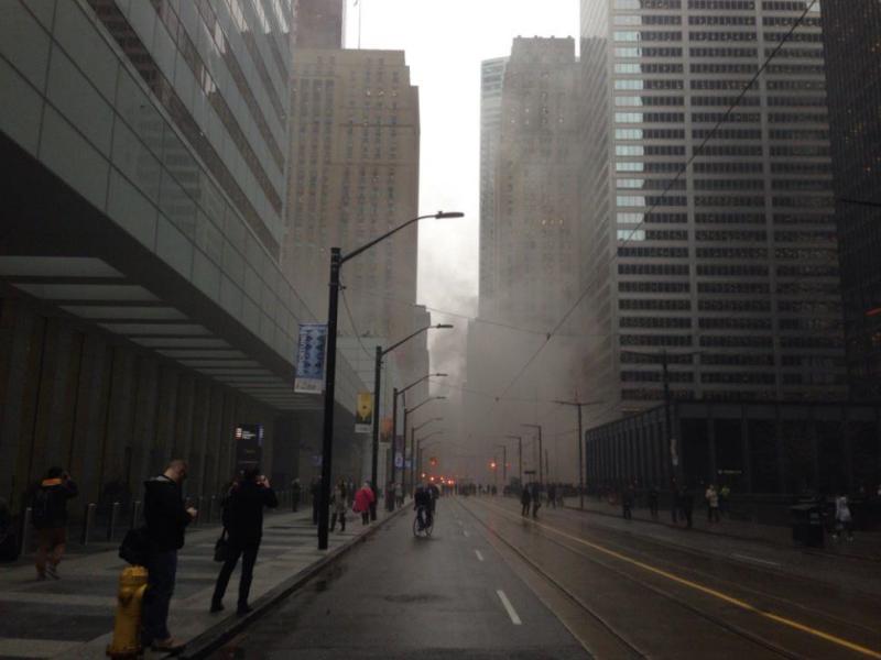 Мощный взрыв в деловом центре Торонто – не теракт