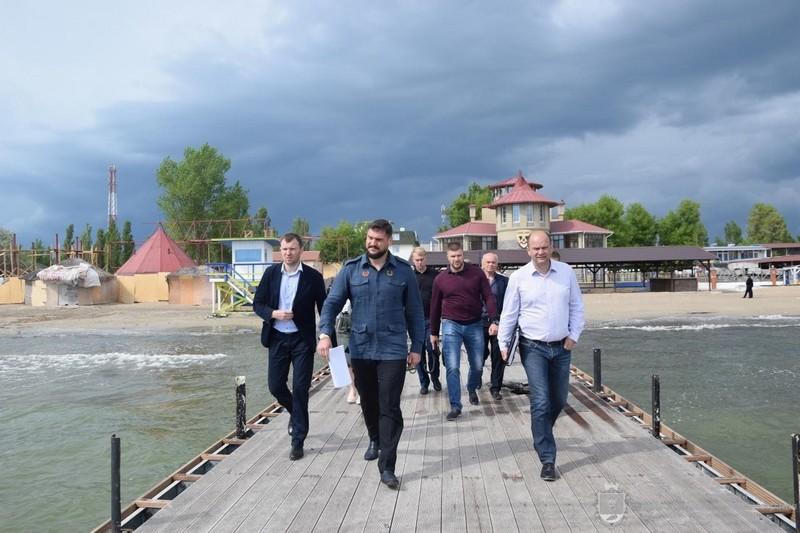Губернатор Николаевщины нагрянул в Коблево: с арендаторами земли на побережье, не соблюдающими условий договоров, будут прощаться