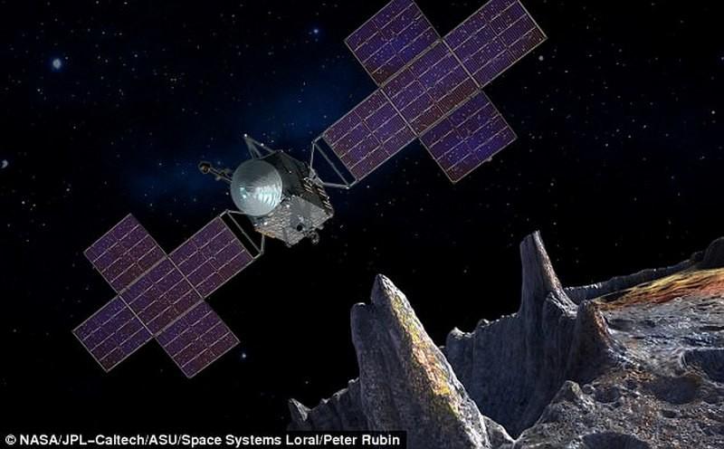 """Миссия Психеи.  NASA готовит полет к """"золотому астероиду"""" – он в разы дороже всей мировой экономики"""