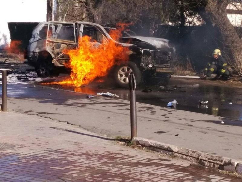 Полковника СБУ в Мариуполе взорвала женщина – СМИ