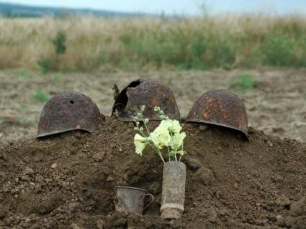 Пять неизвестных солдат Второй мировой войны перезахоронили в Херсонской области