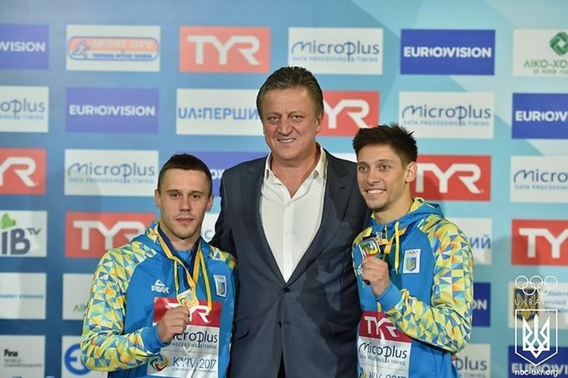 Николаевцы Кваша и Колодий на чемпионате Европы по прыжкам в воду принесли Украине еще две медали